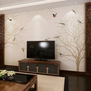 定制墙布客厅电视背景墙简约现代壁纸餐厅壁画墙画沙发背景墙纸