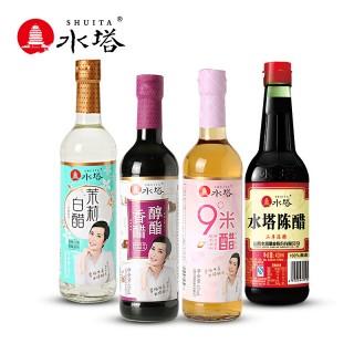 【水塔】山西特产老陈醋420ml*4瓶