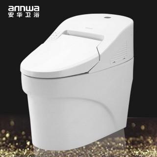 【安华卫浴】智能一体坐洗电动马桶