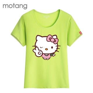 kitty猫可爱印花短袖t恤