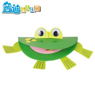 儿童手工制作diy会吐舌头的小青蛙