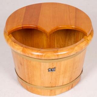 橡木泡脚木桶泡脚桶足浴盆