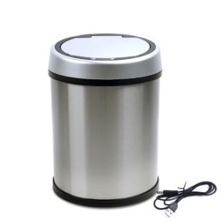 不锈钢电子感应垃圾桶