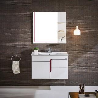 现代pvc浴室柜组合anpg4329b卫生间洗脸盆吊柜